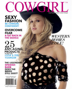 Cowgirl Magazine August-September 2013 Cover | Spanish Barbs