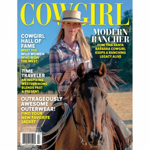 Cowgirl Magazine Jan-Feb2018 Elizabeth Poett Modern Rancher