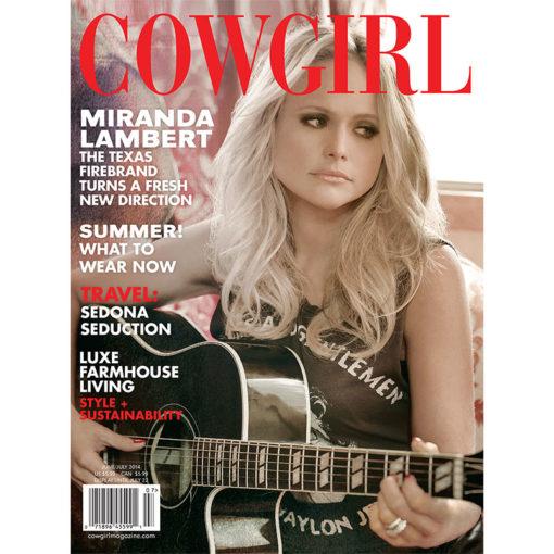 Cowgirl Magazine June-July 2014 Cover | Miranda Lambert