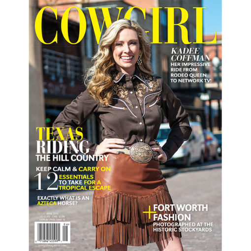 Cowgirl Magazine June 2015 Cover | Kadee Coffman