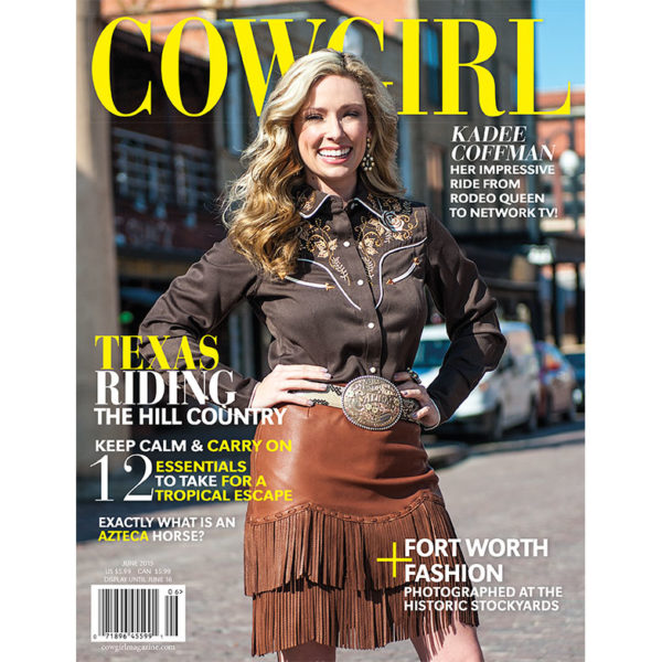 Cowgirl Magazine June 2015 Cover | Kadee Coffman