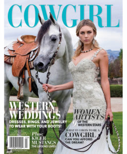 Cowgirl Magazine Western Weddings Dresses Rings Jewelry Boots Kiger Mustangs Women Western Artists