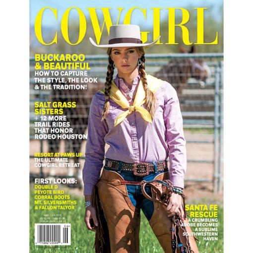 Cowgirl Magazine May-June 2017 Cover   Buckaroo Beautiful