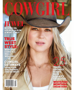 Cowgirl Magazine Jewel True West Style Cowgirl Getaways Whitefish Montana Dream Home