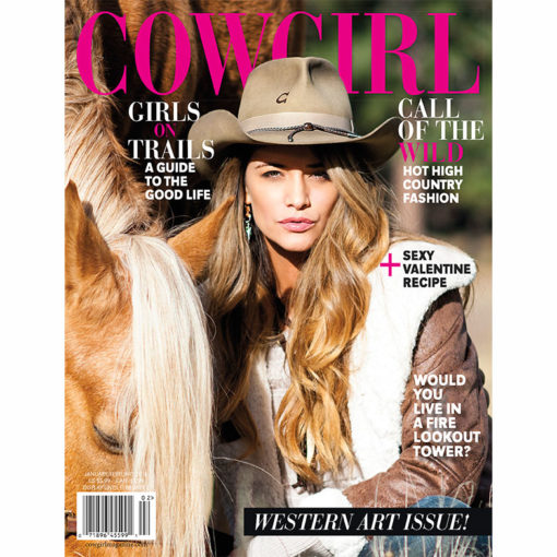 Cowgirl Magazine January-February 2016 Cover | Girls On Trails