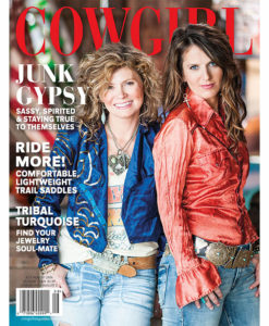 Cowgirl Magazine July-August 2016 Cover | Junk Gypsy
