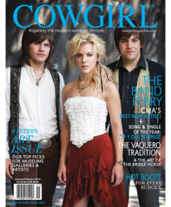 Cowgirl Magazine The Band Perry Vaquero Tradition Bridle Horse Art Western Museums Artists Galleries