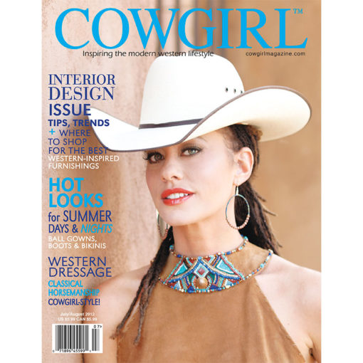 Cowgirl Magazine July-August 2012 Cover | Western Dressage