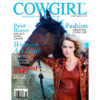 Cowgirl Magazine March-April 2011 Cover | Paint Horses