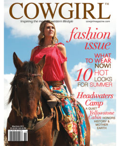 Cowgirl Magazine Fashion Summer Looks Headwaters Camp Yellowstone Cabin