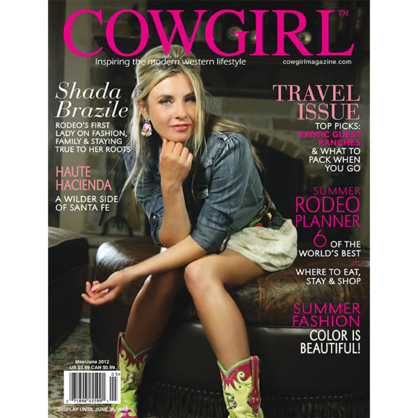Cowgirl Magazine May-June 2012 Cover | Shada Brazile