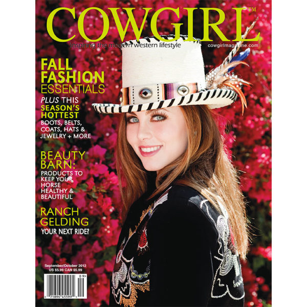 Cowgirl Magazine September-October 2012 Cover | Ranch Gelding