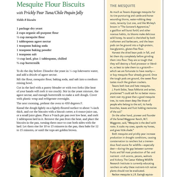 Field To Table Mesquite Flour Biscuits Recipe Cowgirl Magazine