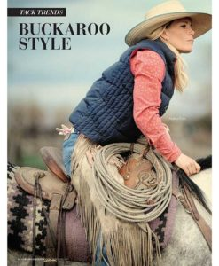 Cowgirl Magazine May-June 2017   Buckaroo Style