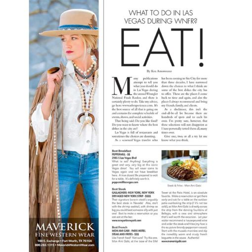Best places to eat in Las Vegas Cowgirl Magazine