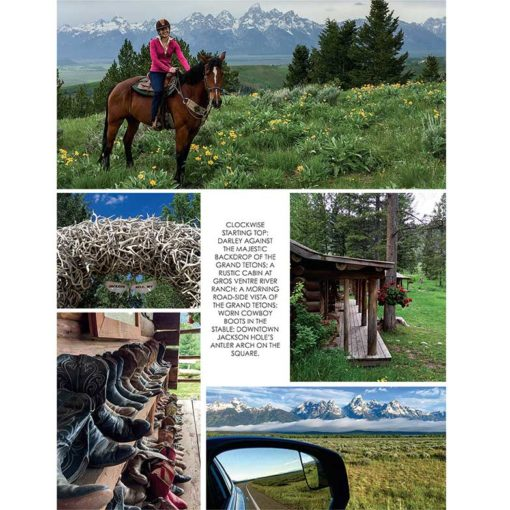 Cowgirl Magazine Jackson Ranch Ride Grand Tetons
