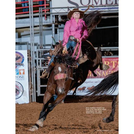 Cowgirl Magazine January February 2018   Lady Bronc Riders
