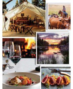 Cowgirl Magazine May-June 2017   Resort At Paws Up Montana Glamping