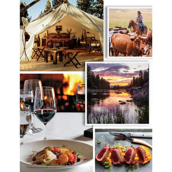 Cowgirl Magazine May-June 2017 | Resort At Paws Up Montana Glamping