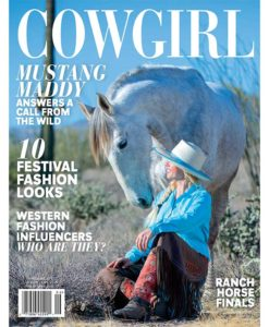Cowgirl Magazine May-June 2018 Cover | Mustang Maddy Shambaugh