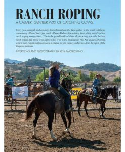 Cowgirl March-April 2018 | Brannaman Pro-Am Vaquero Ranch Roping
