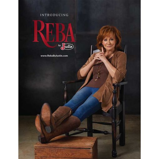 Cowgirl Magazine January February 2018   Reba's New Boots!