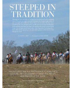 Cowgirl Magazine May-June 2017   Salt Grass Trail Ride