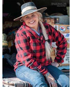 Cowgirl Magazine January February 2018 Adrian Buckaroo Girl