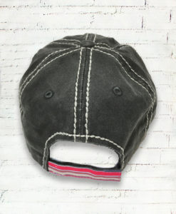 Distressed Serape Yall Texas Cowgirl Ball Cap