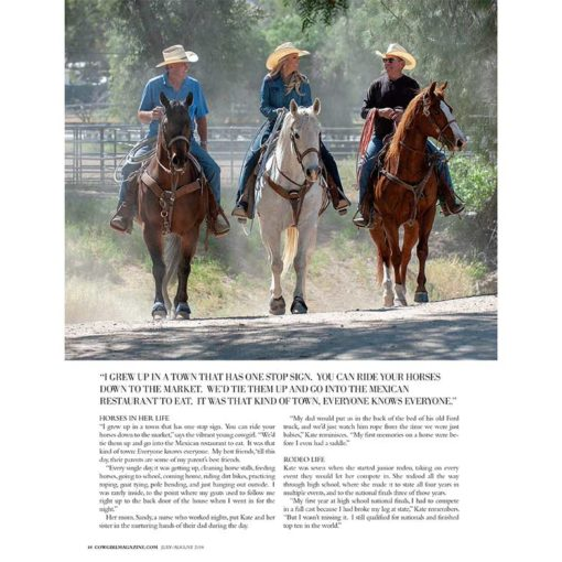 Cowgirl Magazine July August 2018