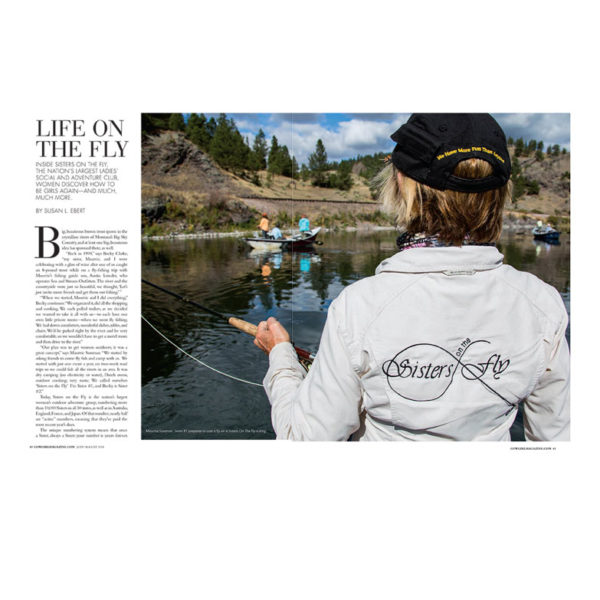Cowgirl Magazine July August 2018 Sisters On The Fly
