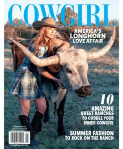 Cowgirl_4_July-August_2019 America's Longhorn
